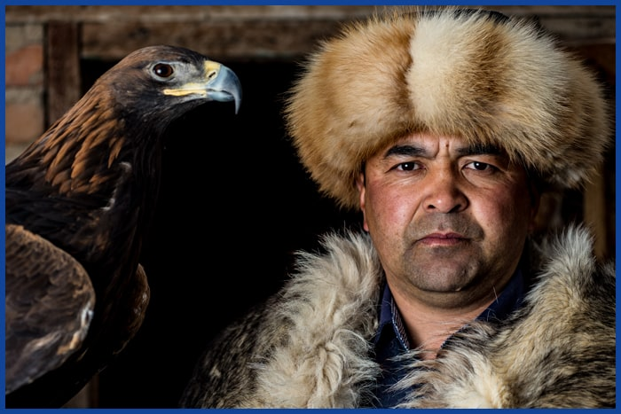 Eagle hunter Kyrgyzstan