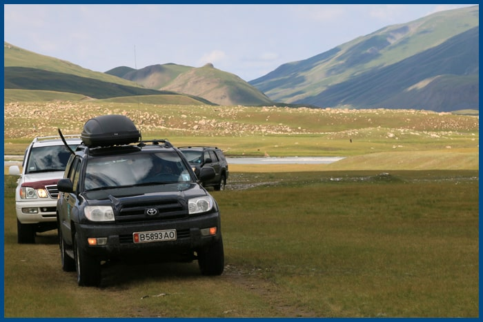 Cars for rent in Kyrgyzstan, Kyrgyzstan tours.