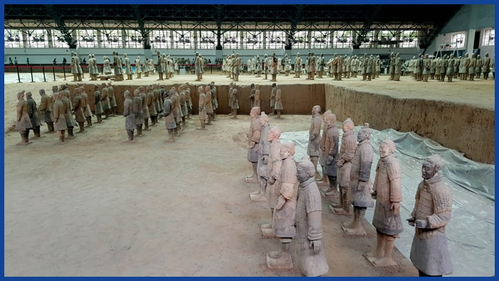 Beijing – Xi'an Terracota warriors tour